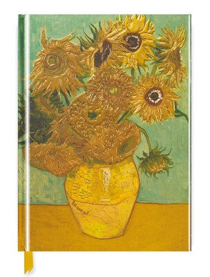 Van Gogh: Sunflowers (Blank Sketch Book)