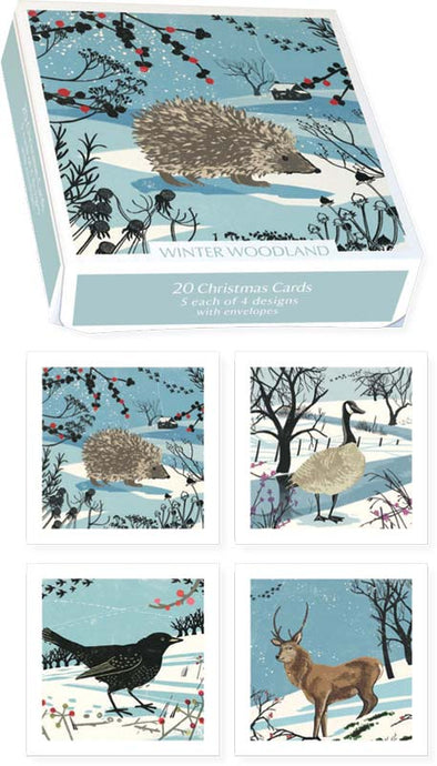 Winter Wonderland - Christmas Boxed Cards Set of 20