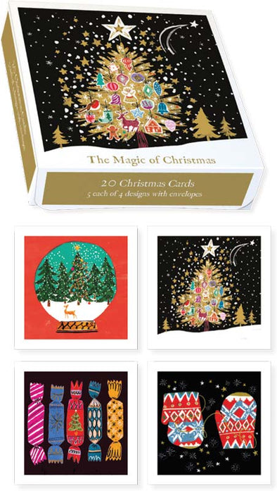 The Magic of Christmas - Christmas Boxed Cards Set of 20