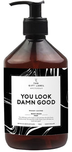 "THE GIFT LABEL Body Wash Men "" You look Damn Good "" 500 ml"