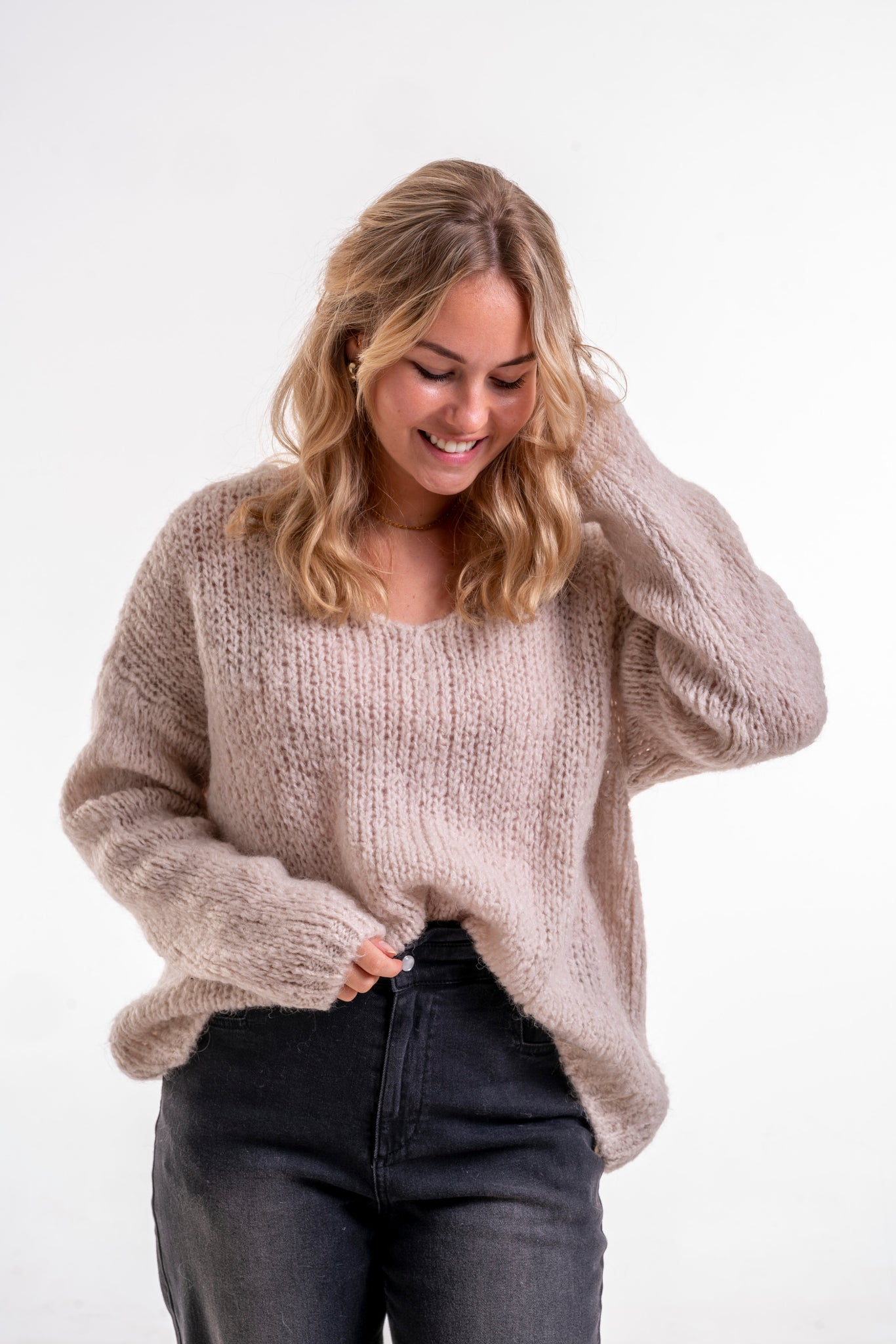 Pullover Vicky beige
