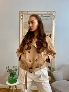 Nümph Trench  Nuavalyn beige