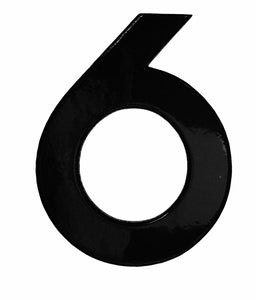 Modern Style Black Reflective House Numbers NEW IN 2020