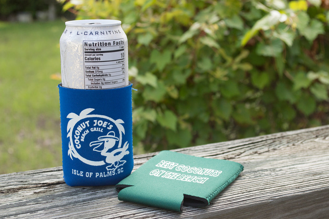 Coconut Joe's Foam Can Koozie