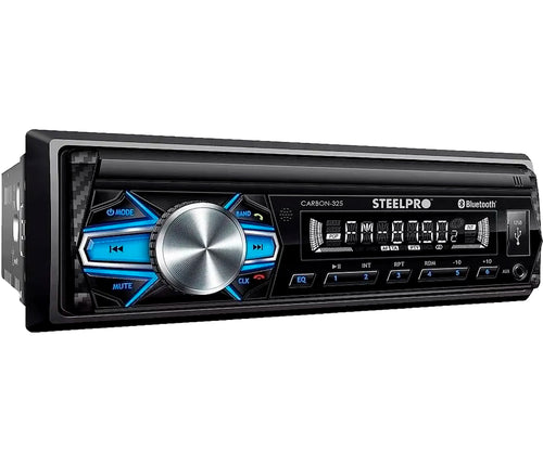 AUTOESTEREO STEEL PRO REPRODUCE MP3/USB/RADIO/BT MOD-CARBON 325