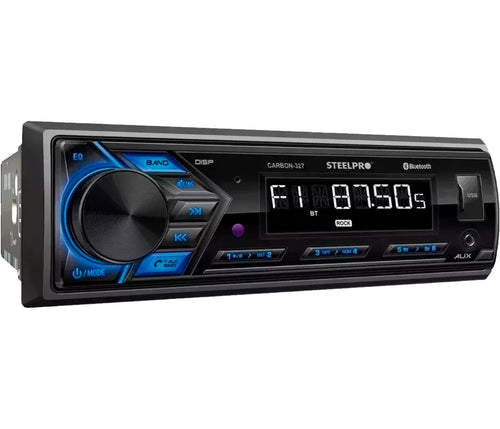 AUTOESTEREO STEEL PRO CARBON 327 MP3/PLAYER