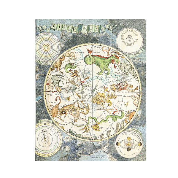 Celestial Planisphere-Lightweight and Mobile-Mini-Lined