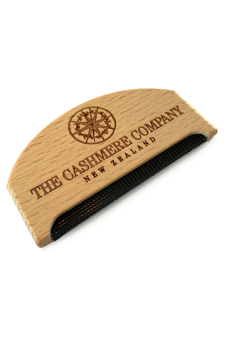 Cashmere comb, nz, New Zealand, wooden comb, pilling, cashmere care, wool,