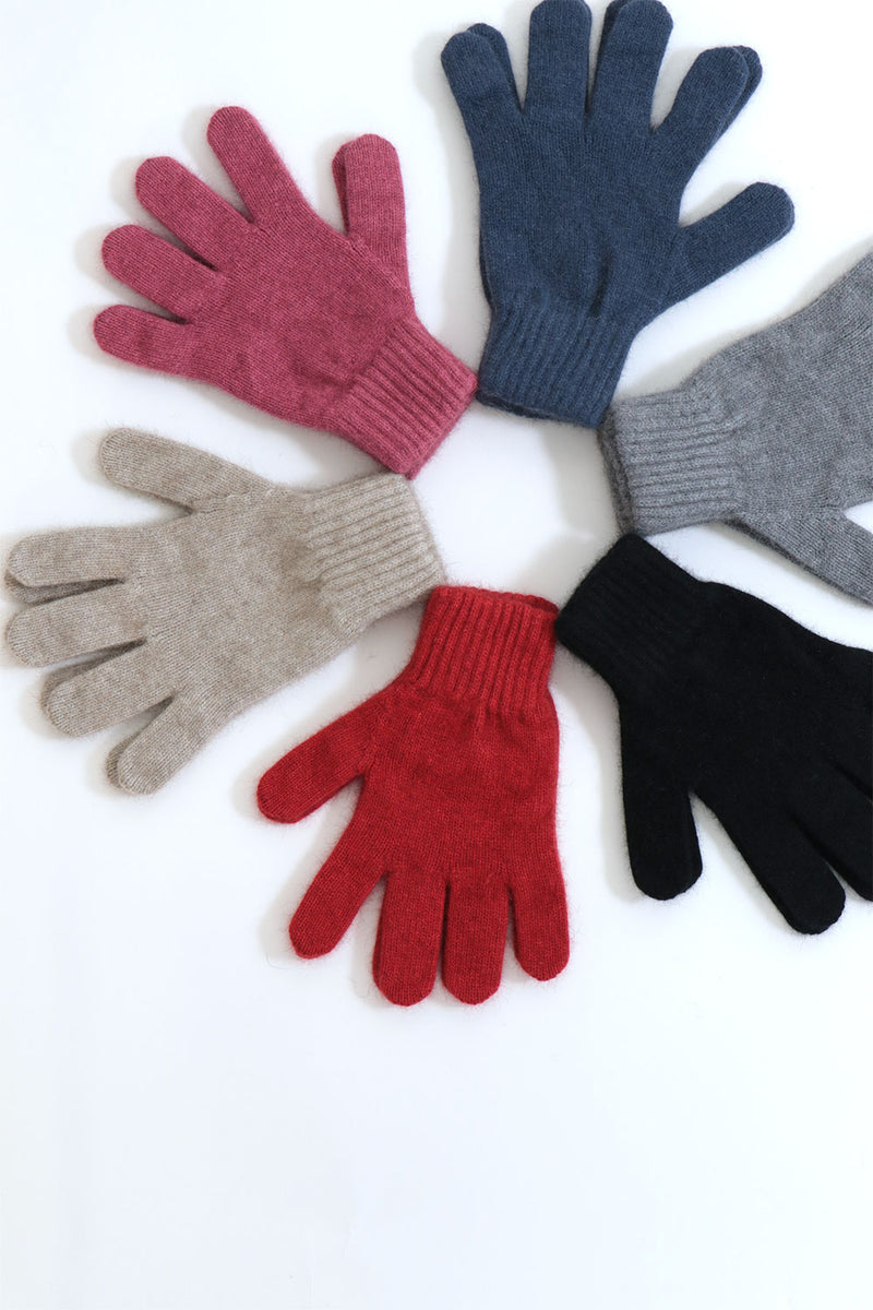 Nimbus Gloves in Possum, Merino & Silk