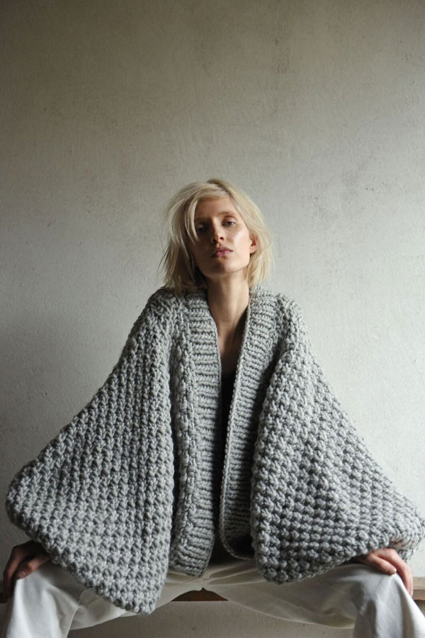 Extreme Sleeve Cardigan (Hand Knitted)