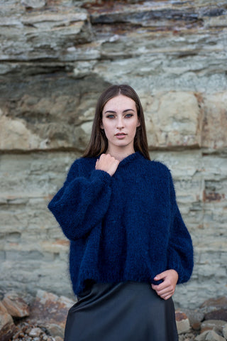 Hand Knitted Sofija Sweater
