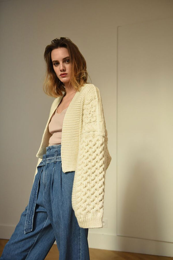 Honey Cardigan (Hand Knitted)