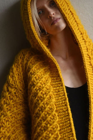 Cable Cardigan (Hand knitted)