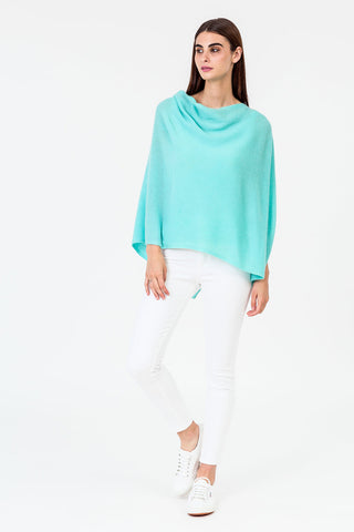 Signature Cashmere Travel Wrap Aqua
