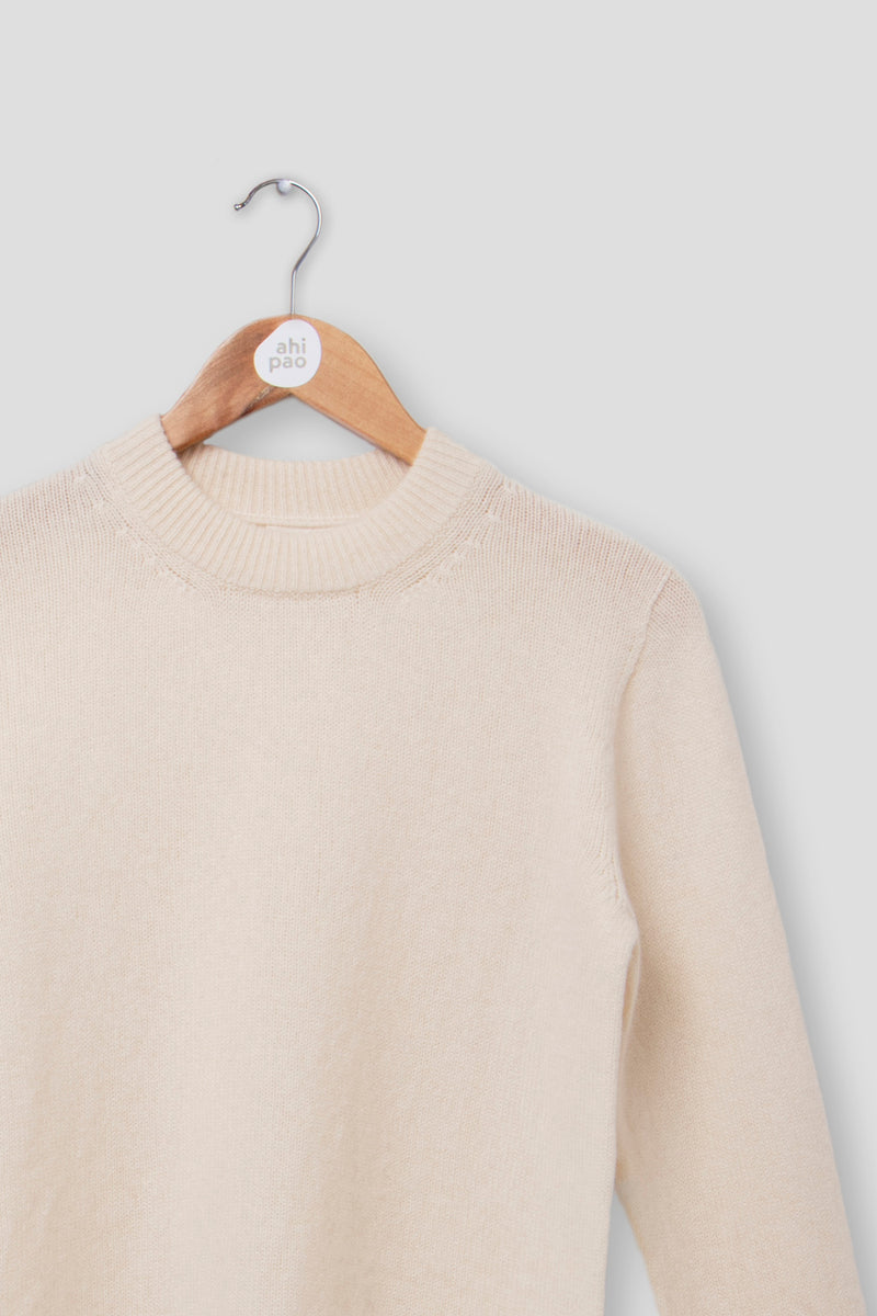 Womens Cashmere Round Neck Jumper