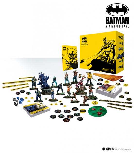 Back To Gotham Player Box