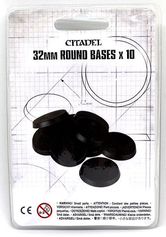 Citadel 32mm Round Bases