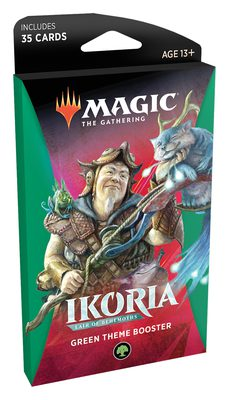 Ikoria: Lair of Behemoths Theme Booster Green