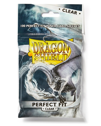 CLEAR - Perfect Fit  - Dragon Shield Sleeves