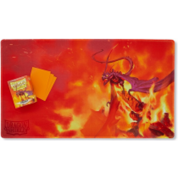PLAYMAT - Orange, usaqin the one who knocks - Dragon Shield