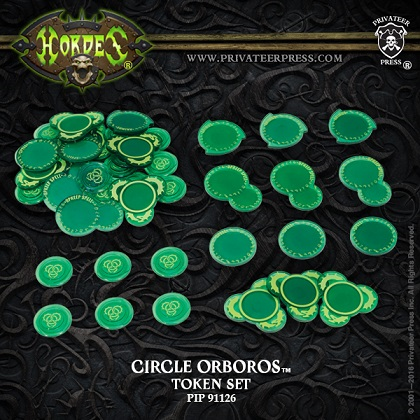 HORDES Mk III - Token Set: CIRCLE ORBOROS