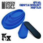 Containment Moulds for Bases - Oval