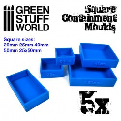 Containment Moulds for Bases - Square