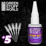 Instant Glue GEL formula - with precision tips