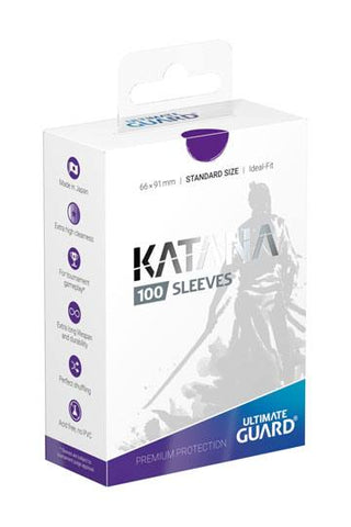Katana Sleeves Standard Size Purple (100)
