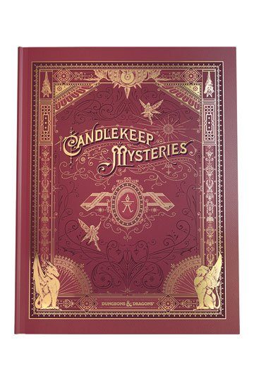 Dungeons & Dragons RPG Adventure Candlekeep Mysteries (Alternate Cover)