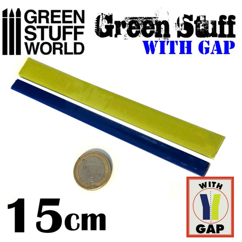 Green Stuff Tape 6 inches WITH GAP