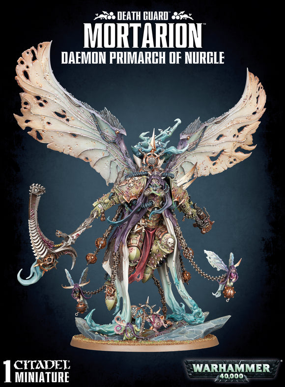 Mortarion, Daemon Primarch of Nurgle