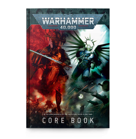 Warhammer 40,000 Core Rule Book (9 edition)
