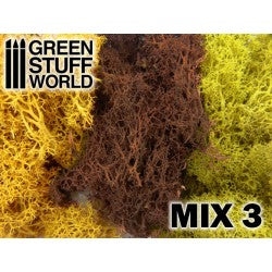 Islandmoss - Yellow and Brown Mix