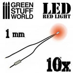 Red LED Lights - 1mm