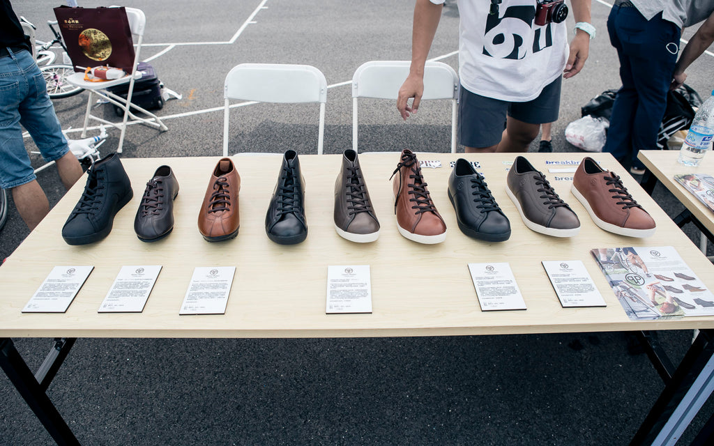 Quoc Pham shoe display