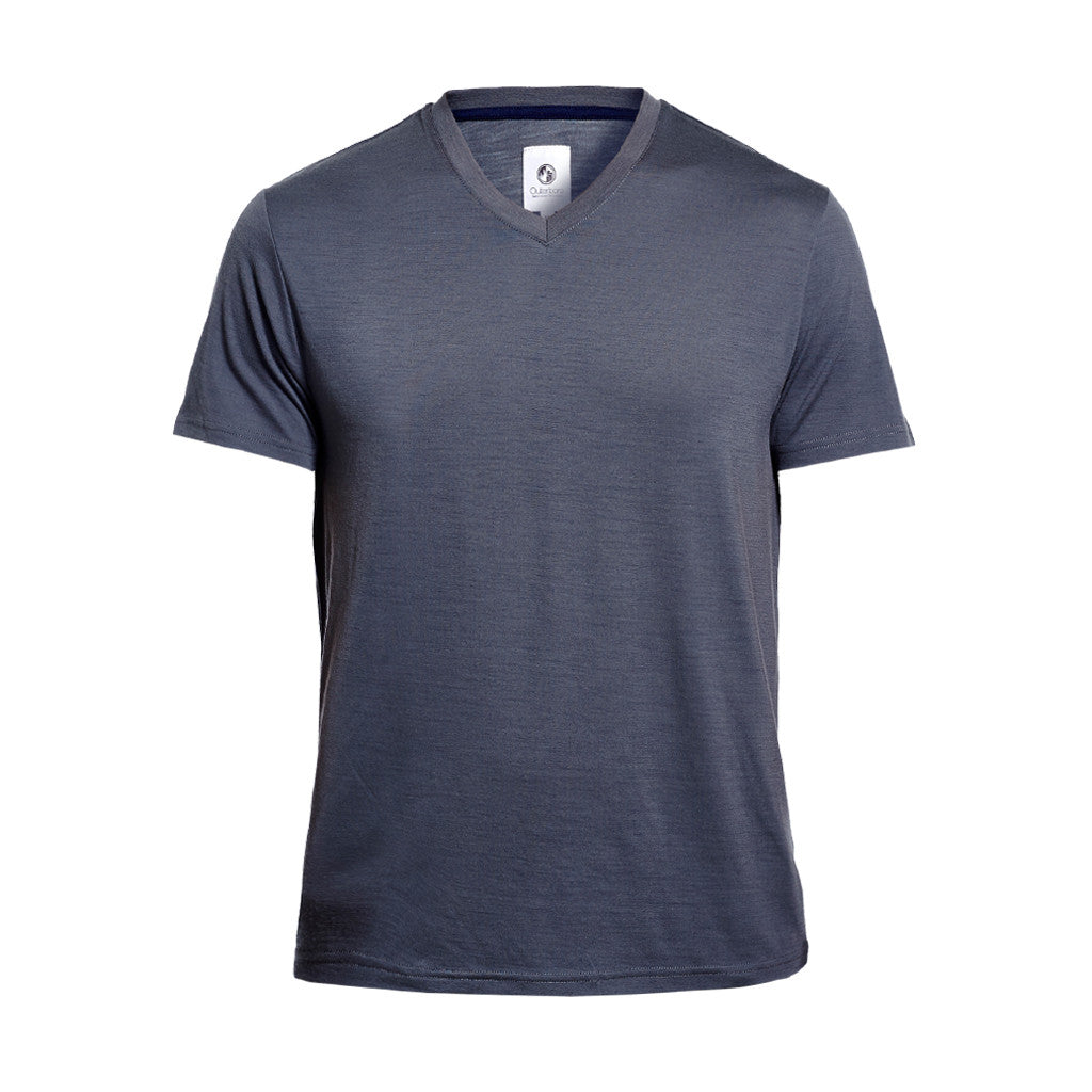 Essential V-Neck Merino Tee