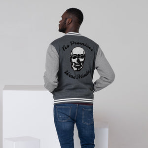 This Jacket is brought to you by No Promises Studios. It is very soft and of the highest quality. All images are printed exactly as shown.