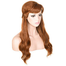 Load image into Gallery viewer, Morvally Frozen 2 Anna Princess Cosplay Wigs for Women