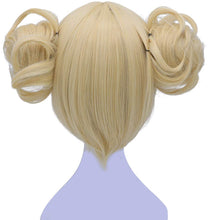 Load image into Gallery viewer, Morvally Short Blonde Himiko Toga Cosplay Wigs for Women Girls Kids