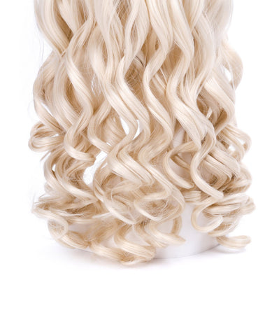 Morvally Long Wavy Blonde Wigs for Women Game of Thrones and White Queen Cosplay