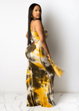 Spacing Out Tie Dye Maxi Dress