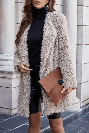 Winter Thick Oversized Sweaters Coat