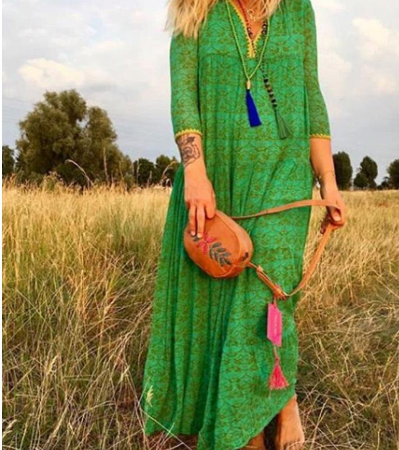 Beach Boho Maxi Women Summer Long Dress