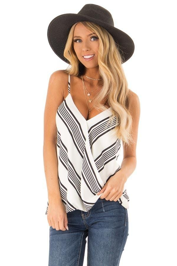 Summer Fashion Stripe Sleeveless Loose Top