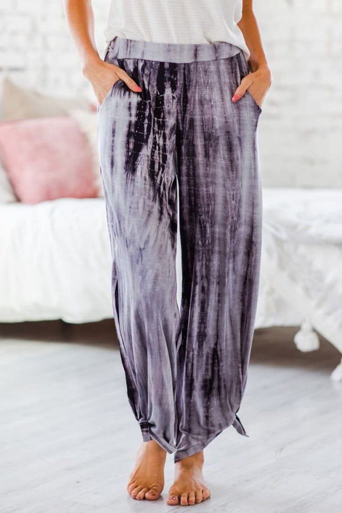 Fashion Tie Dye Casual Pants