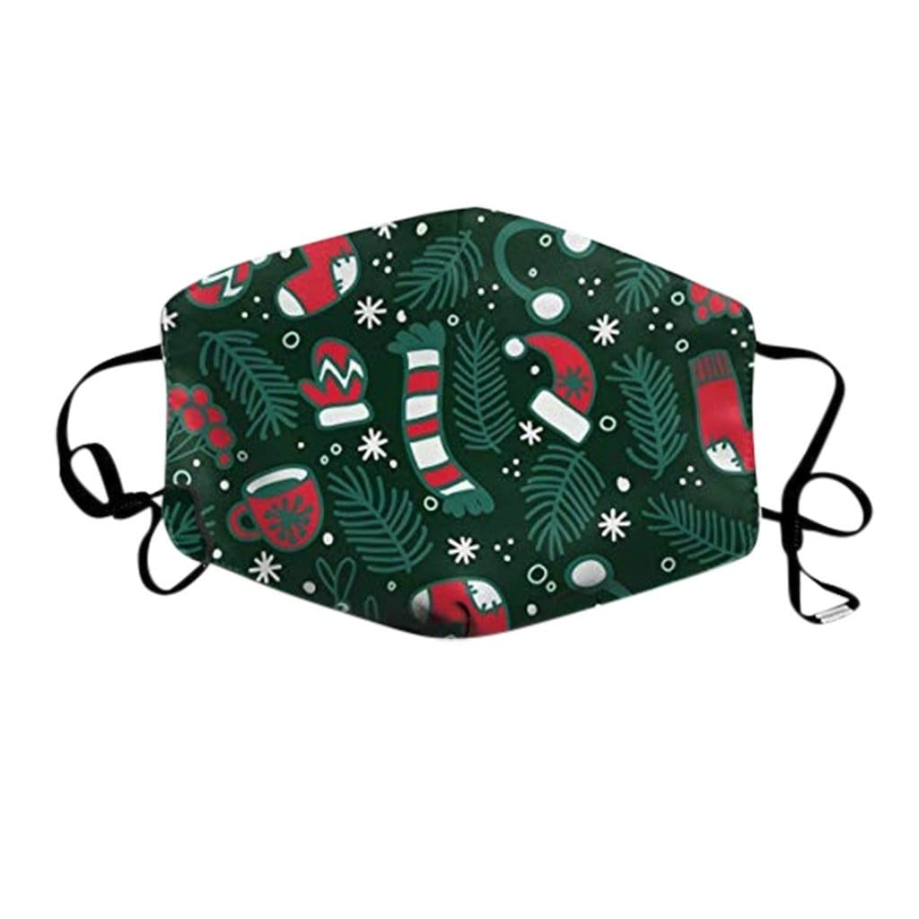 XMAS BREATHABLE MOUTH MASK