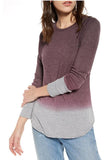 Gradient Design Long Sleeve Tee 3 Colors