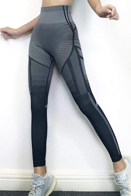 High-Waist Founction Yoga Sports Pants 4 Colors