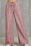 Striped Casual Pants 3 Colors